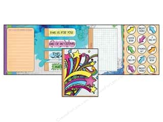 Tabs Clearance Crafts: EK Sticko Stationery Kit Doodle It Rainbow