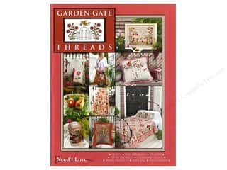 Cross Stitch Projects Gardening & Patio: Need'l Love Company Garden Gate Threads Book