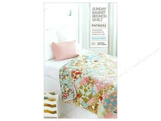 Laundry Basket Quilts Fat Quarter / Jelly Roll / Charm / Cake Patterns: BasicGrey Sunday Basket Brunch Quilt Pattern
