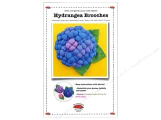 Flowers Books & Patterns: La Todera Hydrangea Brooches Pattern