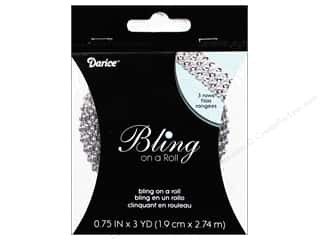 "Darice Bling On A Roll Mesh Ribbon .5"" 3yd Slv"