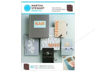 Martha Stewart Stencil by Plaid Silkscreen Serif