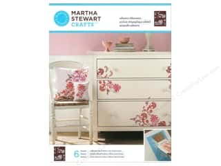 Martha Stewart Stencil by Plaid Silkscreen Blossom