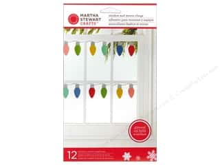 Martha Stewart Deco Clings Wonderland Christmas Lt