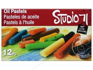 Paint sets: Darice Studio 71 Paint Oil Pastel Set 12pc