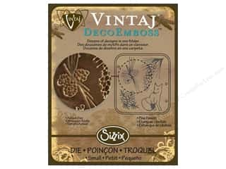 Sizzix Die Vintaj DecoEmboss Pine Forest