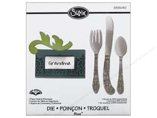 Sizzix Bigz Die Place Card & Silverware by Karen Burniston
