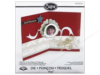Sizzix Bigz Die Platform Circle & Ribbon 3D (Pop-Up) by Karen Burniston