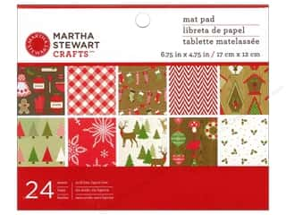 Martha Stewart Mat Pad 6.5&quot;x 4.5&quot; CottageChristmas