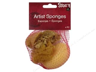 Sponges: Darice Studio 71 Sponges Assorted 4pc