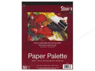 Darice Studio 71 Paper Palette 9 x 12 in. 50 Sheet