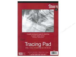 Darice Studio 71 Tracing Pad 9 x 12  in. 100 Sheet