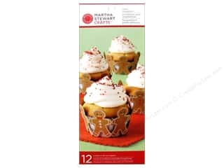 Baking Wraps / Cupcake Wrappers: Martha Stewart Treat Wrap Die Cut Cottage Christmas