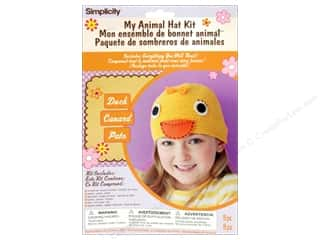 Hats Clearance Crafts: Simplicity My Animal Hat Kit Duck