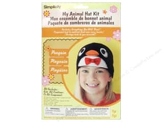 Simplicity Trim Kids Crafts: Simplicity My Animal Hat Kit Penguin