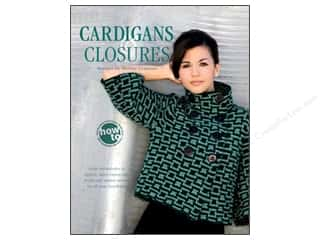 crochet button: House of White Birches Cardigans & Closures Book