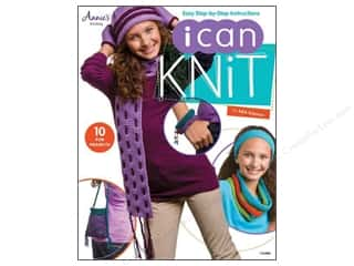 Kid Crafts Annie's Attic: Annie's I Can Knit Book by Edie Eckman