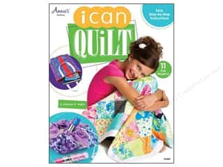 Annies Attic Fat Quarter / Jelly Roll / Charm / Cake Books: Annie's I Can Quilt Book by Carolyn S. Vagts