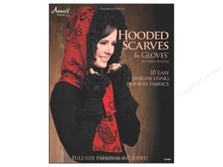 Annies Attic Clearance Patterns: Annie's Hooded Scarves & Gloves Book by Chris Malone