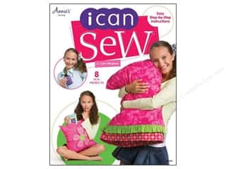 Kid Crafts Annie's Attic: Annie's I Can Sew Book by Lynn Weglarz