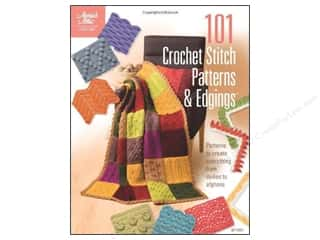 Yarn, Knitting, Crochet & Plastic Canvas Annie's Attic: Annie's 101 Crochet Stitch Patterns & Edgings Book