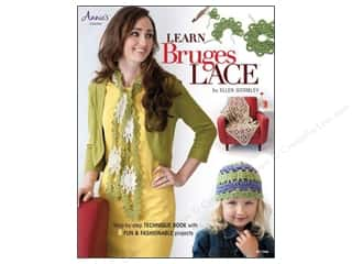 crochet books: Learn Bruges Lace Book