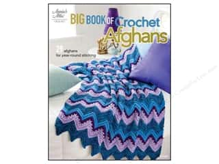 By Annie $9 - $12: Annie's Big Book of Crochet Afghans Book