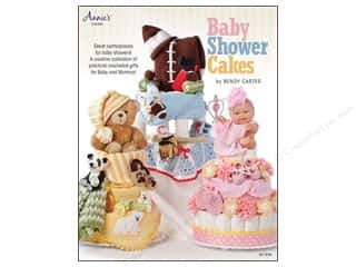 Annies Attic $4 - $5: Annie's Baby Shower Cakes Book by Bendy Carter