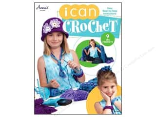 Annies Attic 10 1/2 in: Annie's I Can Crochet Book
