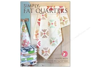 Annies Attic Fat Quarter / Jelly Roll / Charm / Cake Books: It's Sew Emma Simply Fat Quarters Book