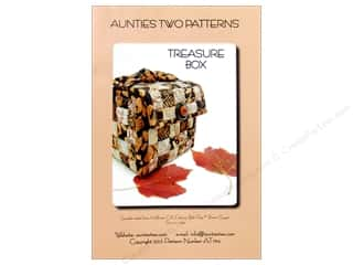 Straight Stitch Fat Quarters Patterns: Aunties Two Treasure Box Pattern