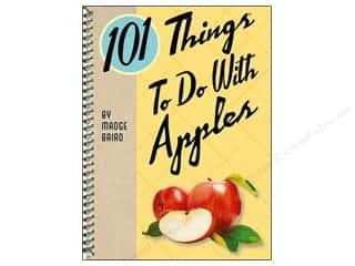 Cooking/Kitchen Books & Patterns: Gibbs-Smith 101 Things To Do With Apples Book