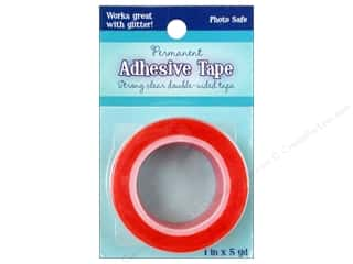 "Glues/Adhesives Sale: Sulyn Tape Double Side Permanent Red Liner 1"" 5yd"