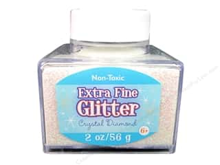 2013 Crafties - Best Adhesive: Sulyn Glitter 2oz Stack Jar Extra Fine Crys Dmnd
