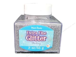 Basic Components Blue: Sulyn Glitter 2oz Stack Jar Extra Fine Sterling