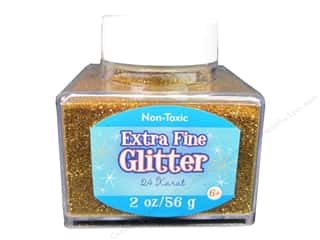 2013 Crafties - Best Adhesive: Sulyn Glitter 2oz Stack Jar Extra Fine 24 Karat