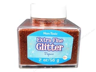 Papers Basic Components: Sulyn Glitter 2oz Stack Jar Extra Fine Topaz