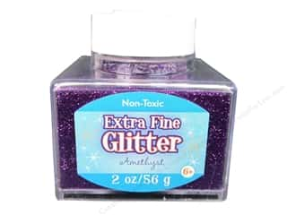 2013 Crafties - Best Adhesive: Sulyn Glitter 2oz Stack Jar Extra Fine Amethyst