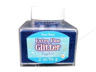 2013 Crafties - Best Adhesive: Sulyn Glitter 2oz Stack Jar Extra Fine Sapphire
