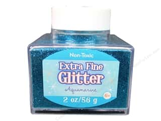 Sulyn Glitter 2oz Stack Jar Extra Fine Aquamarine