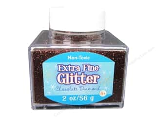 2013 Crafties - Best Adhesive: Sulyn Glitter 2oz Stack Jar Extra Fine ChocDiamond