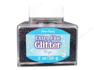 2013 Crafties - Best Adhesive: Sulyn Glitter 2oz Stack Jar Extra Fine Onyx