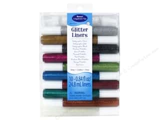 Sulyn Sulyn Glitter Glue: Sulyn Glitter Glue Liners Assorted 10pc