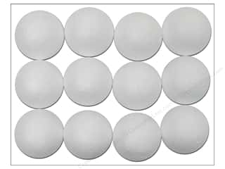 "Darice Craft Foam: Darice Dura Foam Balls 1"" Packaged 12pc"