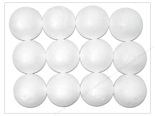 Darice Dura Foam Balls 1.5&quot; Packaged 12pc