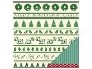 American Crafts Paper 12x12 Kringle&amp;Co Reindeer (25 piece)
