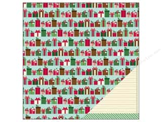 Valentines Day gifts: American Crafts Paper 12x12 Kringle&amp;Co Gift Wrap (25 piece)