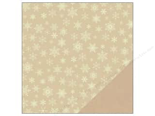 American Crafts Paper 12x12 Kringle&amp;Co Snowflake (25 piece)