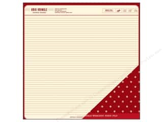 American Crafts 12 x 12 in. Paper Santa's Executive Office (25 piece)