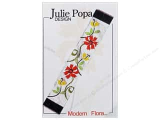 Books & Patterns $9 - $15: Julie Popa Design Modern Flora Pattern